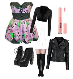 """monday after easter"" by dixielarouge on Polyvore featuring Accessorize, Boohoo and Sephora Collection"