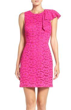 trina Trina Turk trina Trina Turk Kirei Lace Sheath Dress available at #Nordstrom