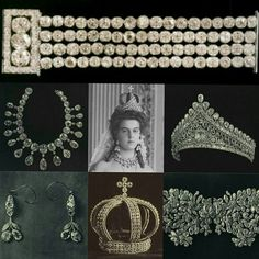 Grand Duchess Maria Pavlovna of Russia in jewels that all royal brides wear on their wedding day Royal Crown Jewels, Royal Crowns, Tiaras And Crowns, Russian Jewelry, Royal Jewelry, Jewel Images, Tsar Nicolas Ii, Imperial Crown, Bridal Tips