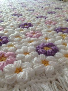 baby flower blanket