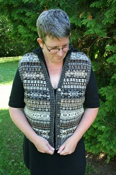 Birthday Yarn Vest