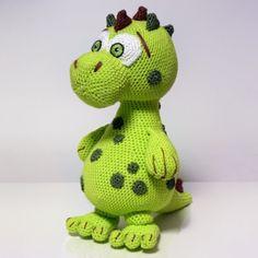 Dino Lucky amigurumi pattern by SKatieDes