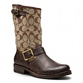 Frye for Coach Veronica Short Signature Boot.  Did I see Frye?!?  Yes please