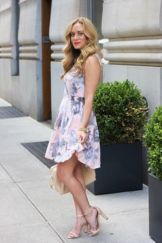 Style Cusp // French Connection Dress + Zara Sandals