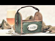 Decoupage męski pojemnik na przydasie - DIY tutorial - YouTube Decoupage, Diy Tutorial, Bookends, Youtube, 1, Free, Tutorials, Boxes, Things To Make