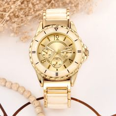 women quartz watch new design brand bracelet style watch clock 2016 luxury gold Ceramics Ladies wrist Watch for women fashion