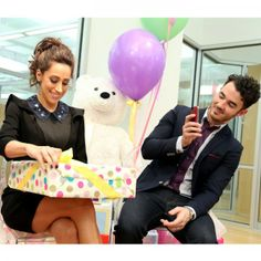 Presents! Behind the Scenes at #DanielleJonas and #KevinJonas Baby Shower!