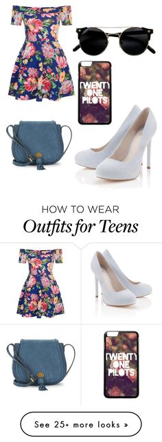 """Untitled #5177"" by ohnadine on Polyvore featuring New Look, Lipsy and Nanette Lepore"