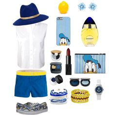 Donald Duck Outfit by shaniceedwards on Polyvore featuring polyvore fashion style T By Alexander Wang J.Crew Vans Swarovski Domo Beads Madison Parker Sensi Studio Dirk Bikkembergs NARS Cosmetics Isaac Mizrahi Bare Escentuals FACE Stockholm Boucheron
