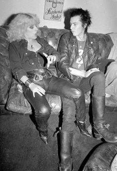 Sid Vicious and Nancy Spungen photo: Richard Mann