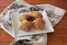 Alcachofas empanadas | Comer con poco
