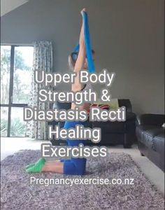 Diastasis Recti and Upper Body Strength Exercises - Fitness Workouts Exercices Diastasis Recti, Workouts For Diastasis Recti, Healing Diastasis Recti, Fitness Workouts, At Home Workouts, Morning Ab Workouts, Fitness Games, Kids Fitness, Yoga Fitness