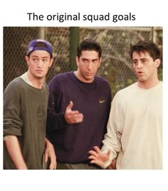 #squadgoals #friends #friendstvshow
