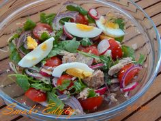 Smaki Edyty: Sałatka a la nicoise