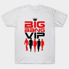 2017 Newest Unisex T Shirt O-Neck K Pop Bigbang VIP Print T-Shirt TOP/G-Dragon/TaeYang/SeungRi/DaeSung Tees Brand Clothing Tops #Affiliate