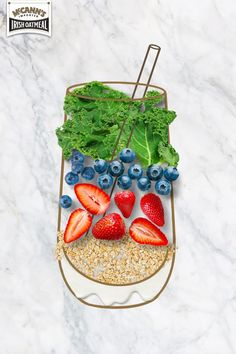 If you have leftover oats, try them in a smoothie. We like blending fruit, veggies, and protein powder into ours!