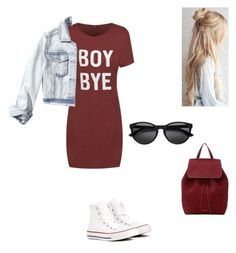 """♥️♥️♥️"" by katiedawn0801 on Polyvore featuring Hollister Co., Converse and Mansur Gavriel"