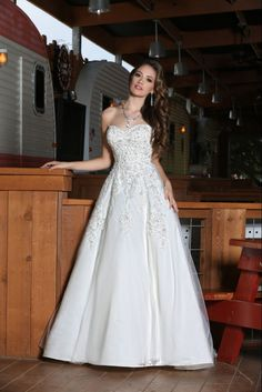 Style 50292 » Wedding Gowns » DaVinci Bridal » Available Colours : Ivory, White