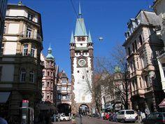 Freiburg Martinstor - Friburgo de Brisgovia -