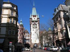 Freiburg im Breisgau, Germany [shown: Martinstor]