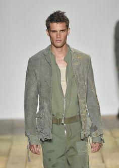 Greg Lauren - Runway - New York Fashion Week: Men's S/S 2016