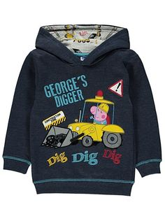 Peppa Pig George Hoody, read reviews and buy online at George. Shop from our latest range in Kids. This cotton rich creation will have all George Pigs oinkin...