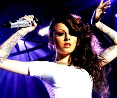 the X Factor Cher Lloyd.... discovered her because of one direction.. LOVE HER!