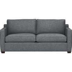 Davis Queen Sleeper Sofa in Sleeper Sofas   Crate and Barrel $1699