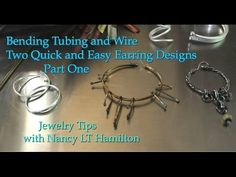 Bending Wire and Tubing with the Pepe Superior Ring Bender - Part 1 - Nancy LT Hamilton - YouTube