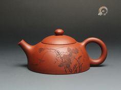 $286.00 - HN100yixing clay teapot ,zisha--handmade,Purple Clay Teapots