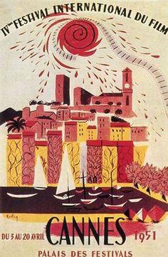 cannes 1951 French Riviera . Essenza di Riviera : the olive oil cosmetics www.varaldocosmetica.it/en