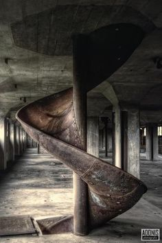 Architectural Decay - Photograph by Aurélien Villette