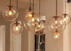 SELENE pendant light by Sandra Lindner for ClassiCon - lighting, Licht, Lampe, Glaskugel, glass sphere