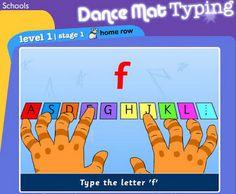 Dance Mat Typing   Tips for dancing mat typing.