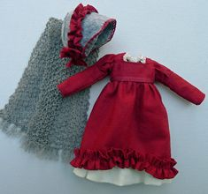 An 1820 Regency Era Outfit for Hitty Dolls by by Islecroft on Etsy