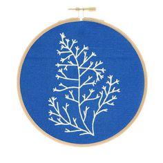 Botanical Embroidery Kit - Kelp