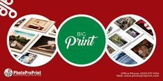 Get bigger with one of the amazing photo printing lab Photo Pro Print. We offer you big prints in quite reasonable amount with more exposure and better color effects. We are considered as best big print lab.  Visit our website: http://www.photoproprint.com/ or Call us: 0203 3711034