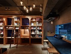 SUPPOSE DESIGN OFFICE Co.,Ltd「BOOK AND BED TOKYO」