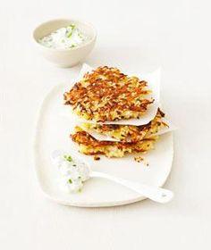 Rezept: Kohlrabi-Rösti mit Sesam