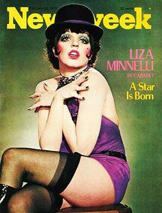 Newsweek magazine, February 28, 1972 —Lisa Minnelli in Cabaret