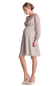 Free shipping and returns on Seraphine 'EldoraLuxe' Maternity Dress at Nordstrom.com. Crisp polka dots pattern a pretty cocktail dress that makes for a festive maternity style, while the Empire waistline flatters your changing figure.