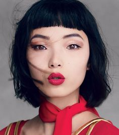 """"""" Xiao Wen Ju photographed by Patrick Demarchalier for Vogue US October 2014 """""""