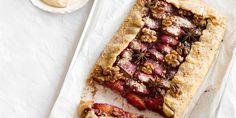Plum, Walnut & Star Anise Crostata with Brown Sugar Marscapone | Baking | MiNDFOOD
