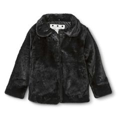 One ifY fav'a from our 2014 target collection, super cute little black fur jacket, super soft too!!Infant Toddler Girls' Faux Fur Coat