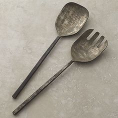 Antuco 2-Piece Serving Set | Crate and Barrel