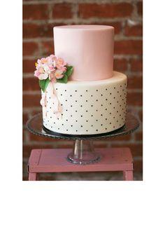 Un gâteau plumetis