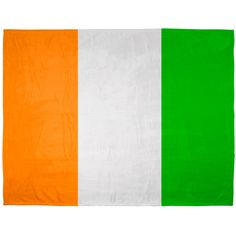 St. Patricks Day - Irish Flag Sublimated Soft Plush Blanket | OldGlory.com