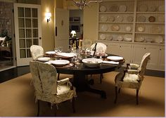 from Modern Country Style blog: Something's Gotta Give: Dining Room