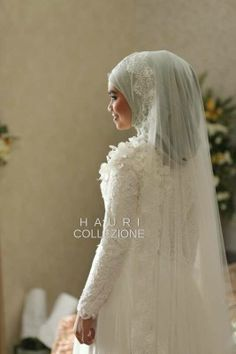 Hauri Collezione Indonesia #wedding #hijab #muslim #bride