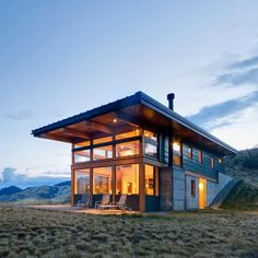 Sigh. Cabin fever! Designed by Balance Associates Architects. More pics up on the site. \\\ Photo by Steve Keating